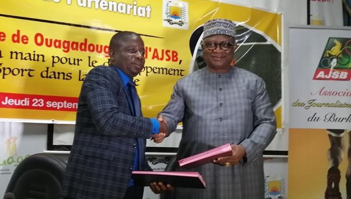 Commune de Ouagadougou : La mairie et les journalistes sportifs du Burkina mutualisent leurs efforts pour la promotion du sport