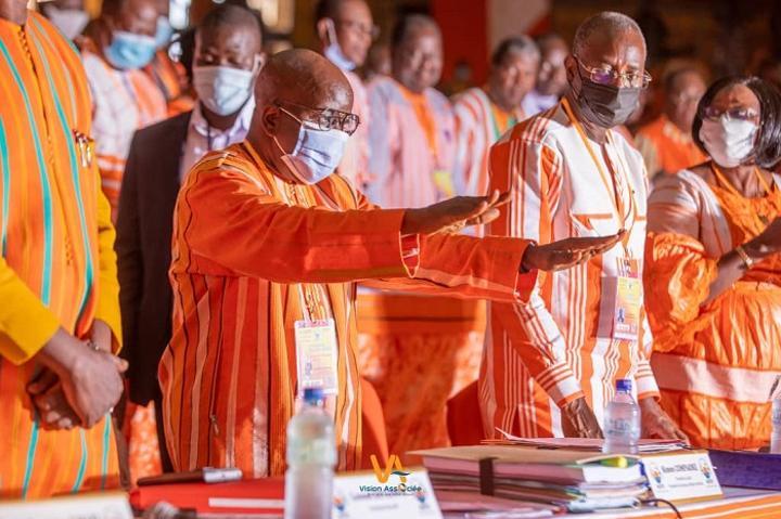 Burkina : Lever de rideau sur le deuxième congrès extraordinaire du parti au pouvoir, le MPP