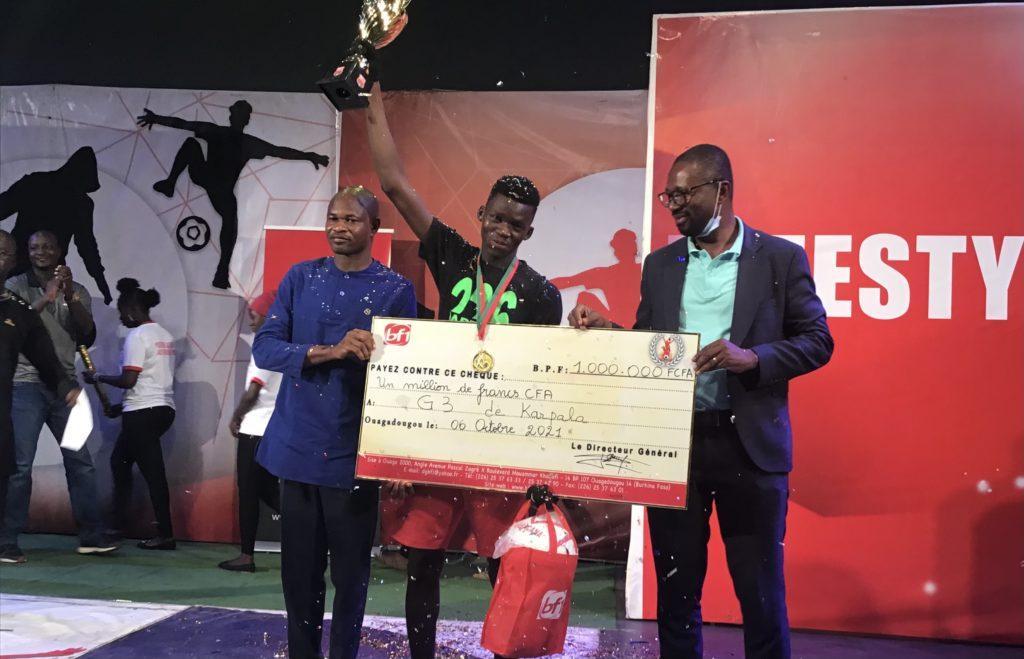 BF1 «Freestyle 2021 » : Mohamed Lamine Guingané de Karpala sacré vainqueur