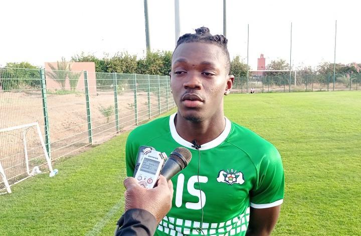 Abdoul Fessal Tapsoba, attaquant des Etalons : « Je vais essayer de concrétiser toutes les occasions de but qu'on aura »