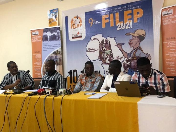 Burkina : la 9e édition du FILEP se penche sur la résilience des médias face aux crises et mutations qui assaillent le métier du journalisme