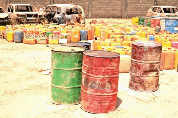 Burkina Faso : Des présumés trafiquants de carburant et de produits illicites interpellés