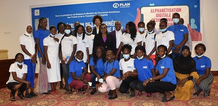 Journée de la jeune fille : Plan Burkina plaide pour l'accès à l'éducation digitale