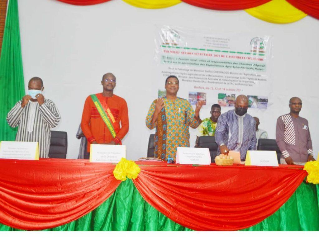 La chambre nationale d'agriculture tient sa première session statutairede l'assemblée consulaire de l'année