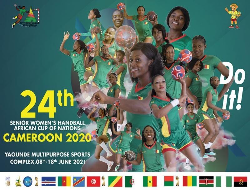 Handball: Coup d'envoi ce mardi 8 juin 2021 à Yaoundé du 24e championnat d'Afrique seniors dames