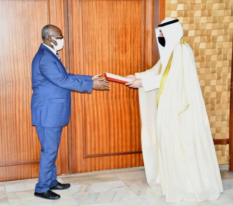 Coopération: Abdulaziz Mohammad Abdulaziz Albisher, le nouvel ambassadeur désigné de Koweit au Cameroun, prend fonction