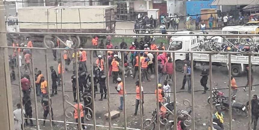 Douala: violent affrontement entre Mototaximen et les forces de l'ordre