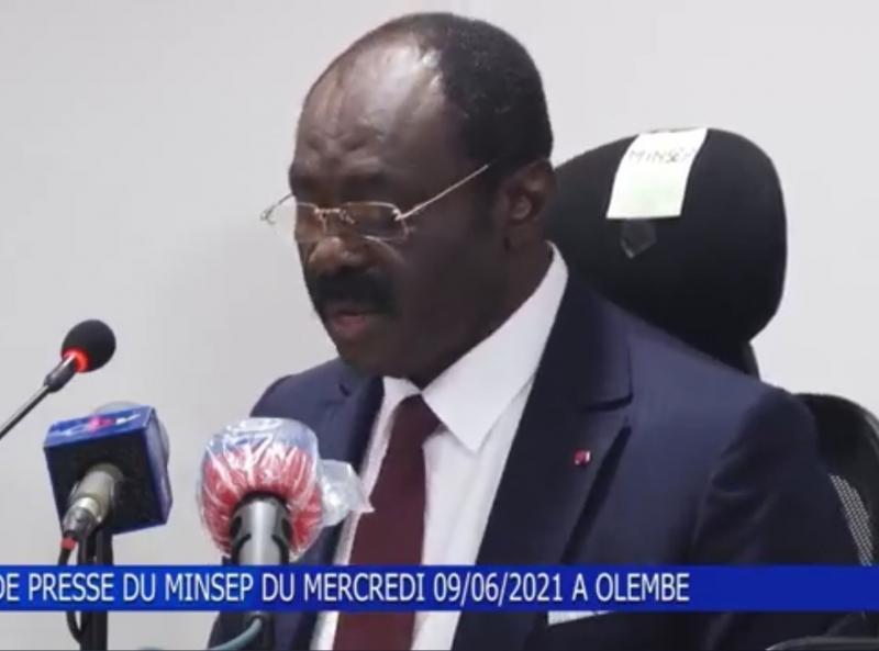 Rumeur autour de l'organisation de la CAN 2021: Voici en vidéo, la réaction de Narcisse Mouelle Kombi, le ministre des Sports et de l'Education Physique