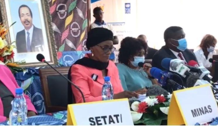 Sextape: furieuse, la ministre Marie Abena Ondoa annonce des actions pénales