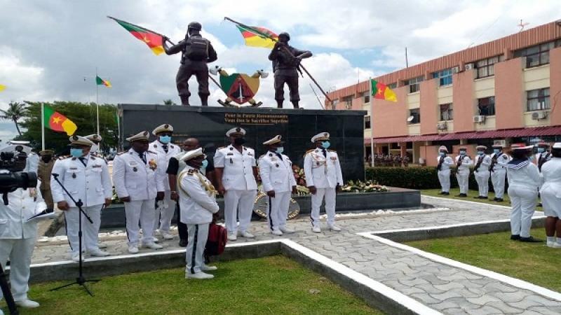 Hommage: Une stèle en honneur aux marins tombés au front érigée à Douala