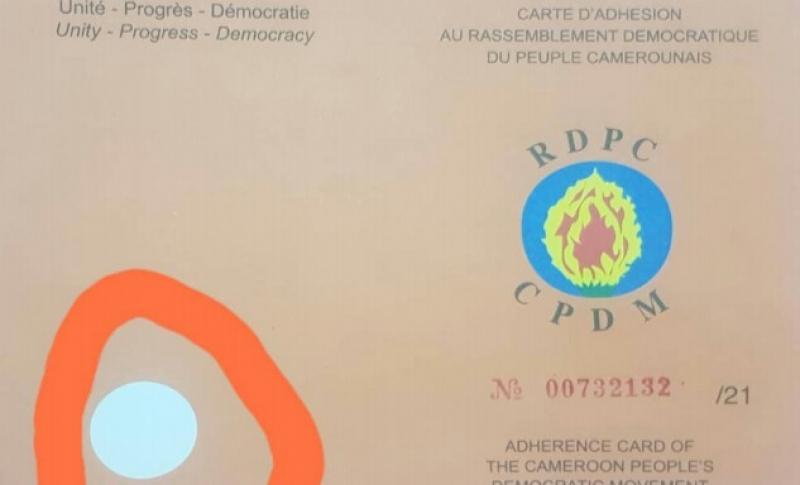 Cameroun – Vie des partis politiques: Près de 3000 fausses cartes du RDPC en vente à Maroua (Extrême-Nord), à la veille du renouvellement des organes de base du parti