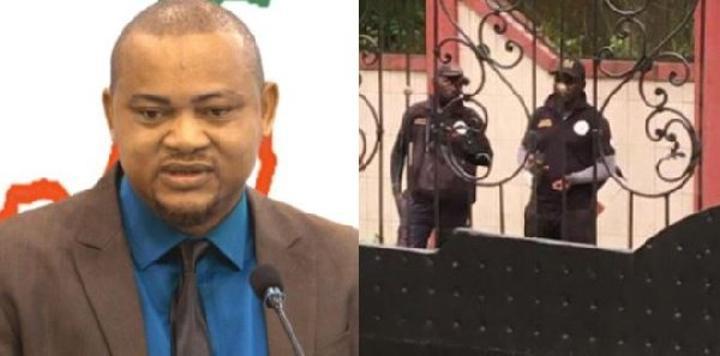 URGENT: la police encercle le domicile du militant du MRC Binyam Pierre Emmanuel