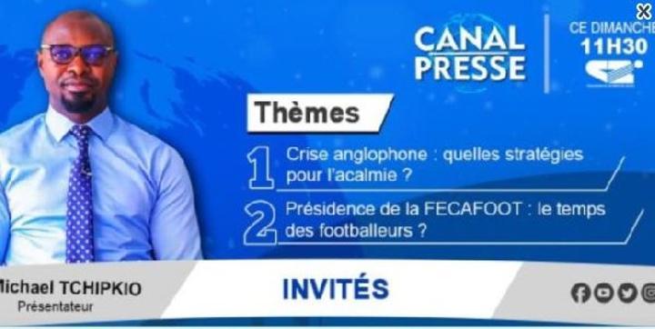 DIRECT - FECAFOOT - NOSO: révélations inédites dans 'Canal Presse'
