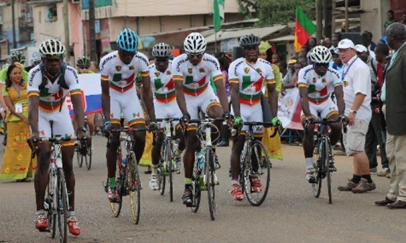 Grand Prix Chantal Biya: Le cycliste camerounais Arthuce Tella s'arroge le maillot jaune à l'issue de la première étape