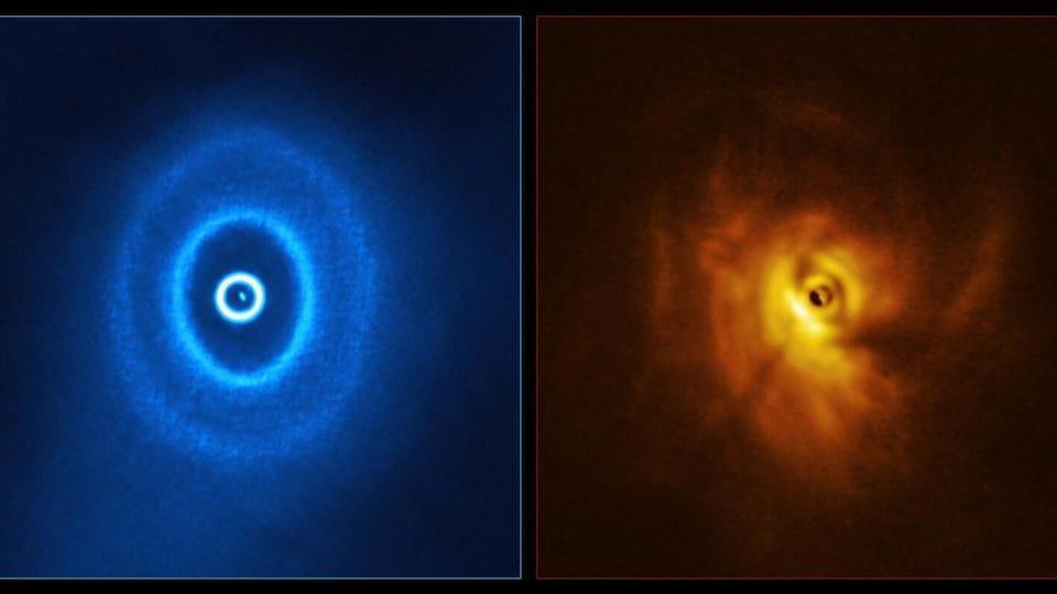 Une exoplanète en orbite autour de trois étoiles?