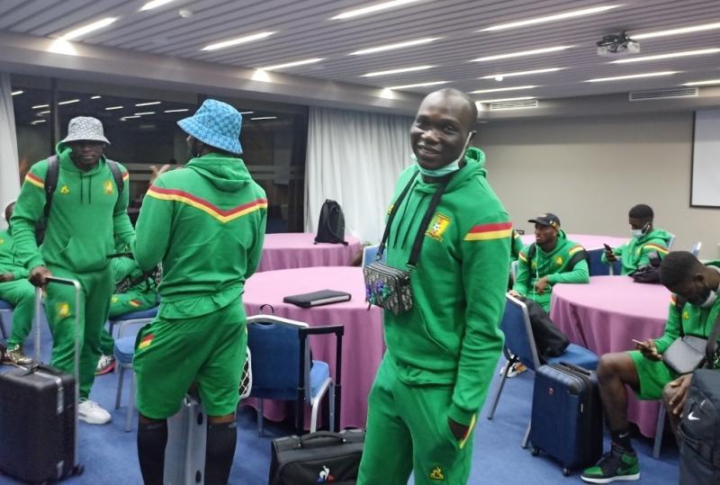 Mondial 2022: Après avoir trainé à Douala, les Lions indomptables sont arrivés à Tanger au Maroc.