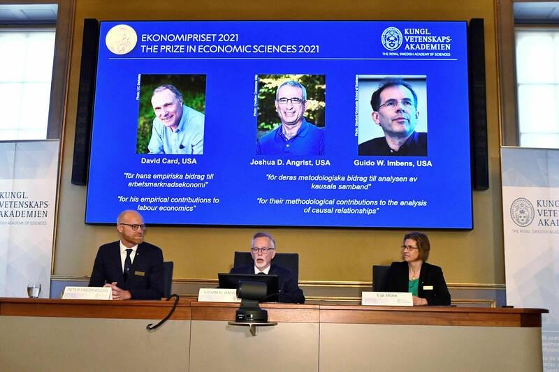 Le prix Nobel d'économie attribué à trois spécialistes de l'économie expérimentale
