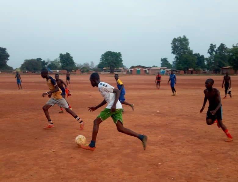 RCA : le sport, un ciment pour la jeunesse de BANGUI.