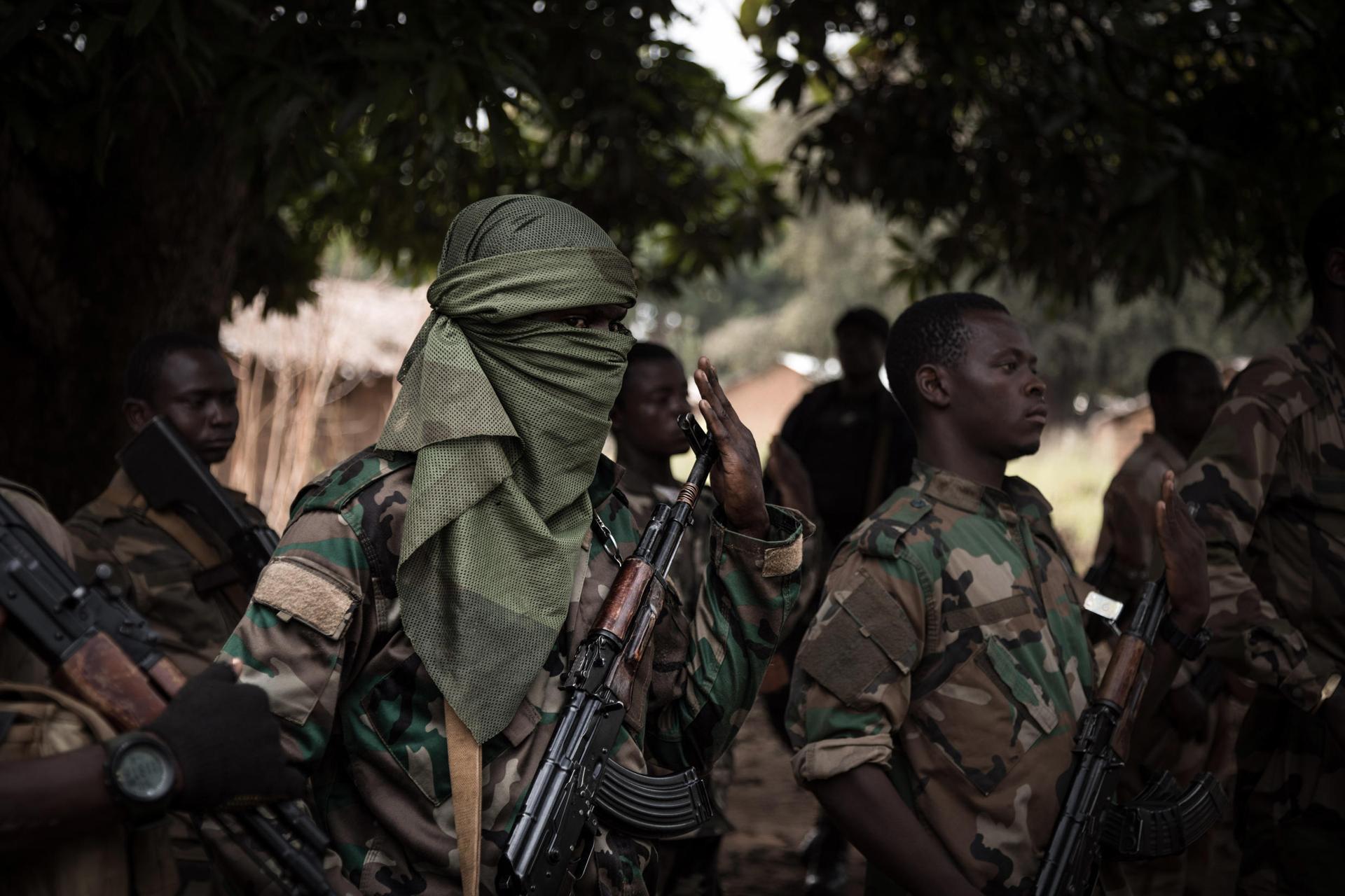 Centrafrique : 44 rebelles tués dans une offensive des forces armées
