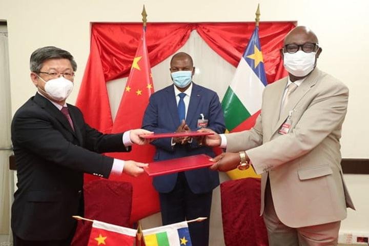RCA: Accord commercial et économique conclu entre la Chine et la Centrafrique