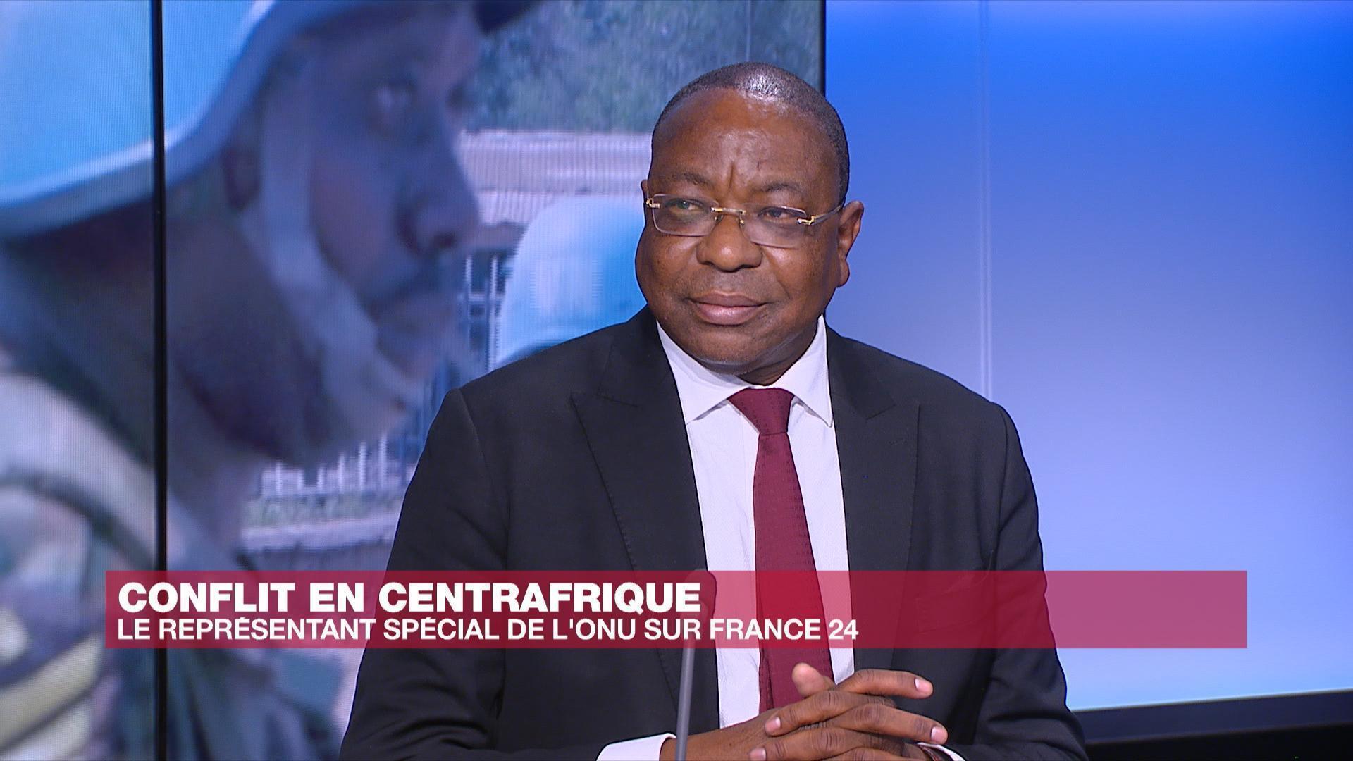 Mankeur Ndiaye, chef de la Minusca :