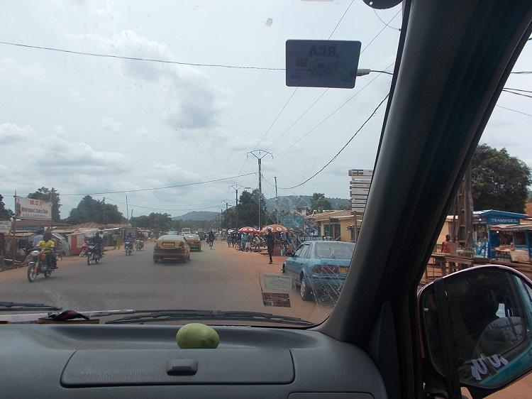 RCA: grave accident de circulation sur l'avenue de l'indépendance à Bangui