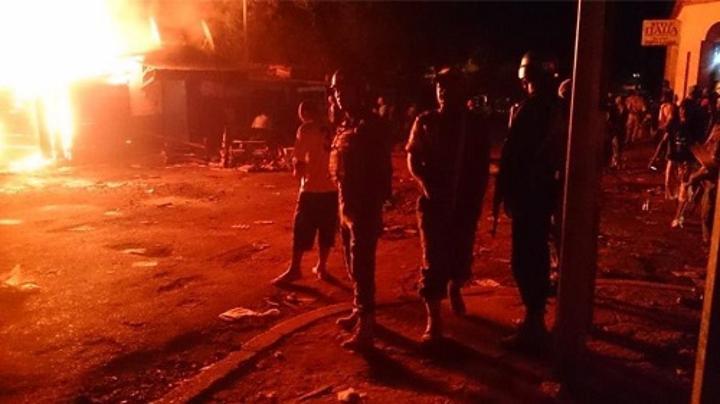 RCA: incendie d'un kiosque non loin du ministère de la Défense à Bangui