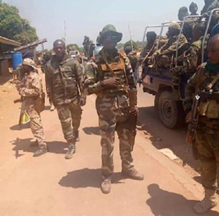 Bambari, trois morts dans une attaque des positions de l'armée nationale au quartier Élevage