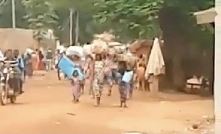 Bambari, au moins 8000 déplacés du site d'élevage déguerpis par l'armée nationale et ses alliés russes