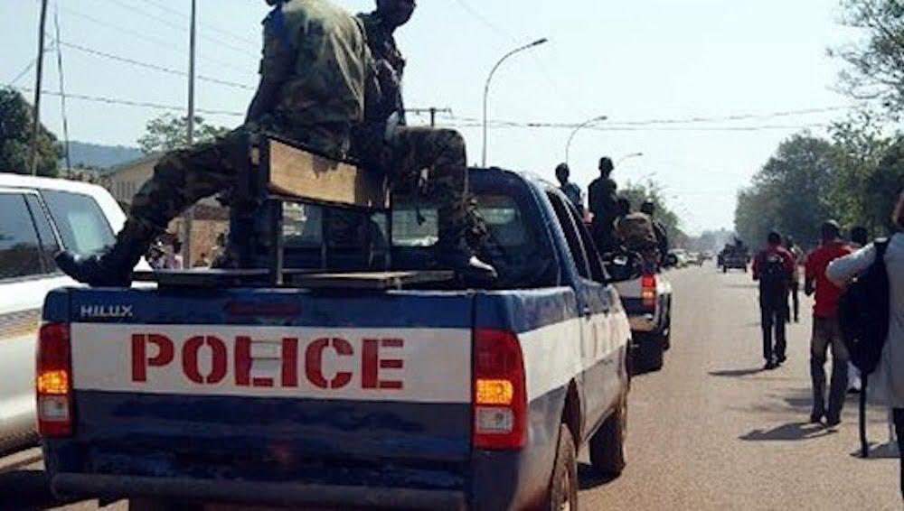 Bangui, deux présumés braqueurs interpellés, des armes saisies