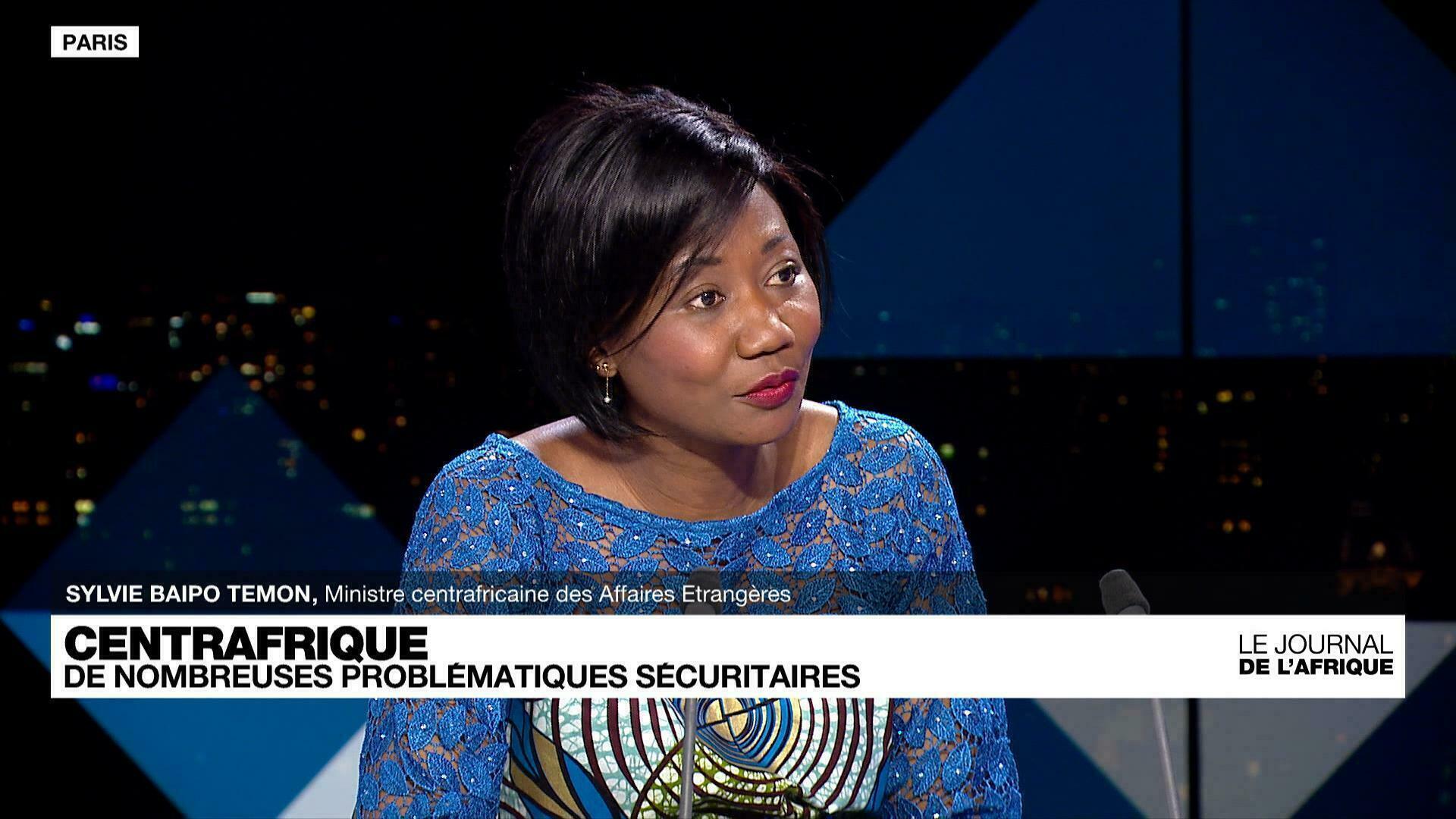 Sylvie Baïpo-Temon, ministre centrafricaine :