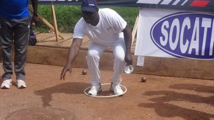À l'occasion de la fête de l'indépendance, un tournoi de pétanque a été organisé à Bangui