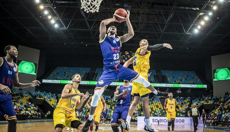 FIBA AfroBasket 2021 : La RDC s'incline devant le Rwanda (68-82)