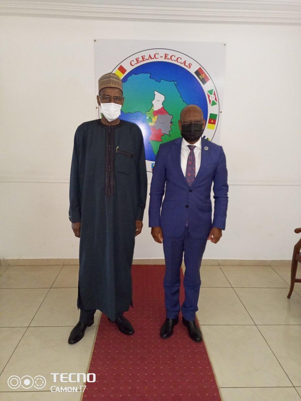 Transition au Tchad : Moustapha Ali Alifeï satisfait du soutien de la CEEAC