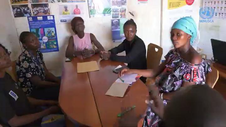 RCA: l'association des jeunes filles sourdes se mobilise pour le respect de leur droit