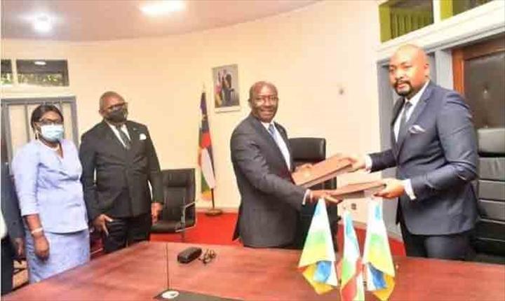 et la CBCA devient BGFI BANK Centrafrique sous la gouvernance de Hervé Kogboma !