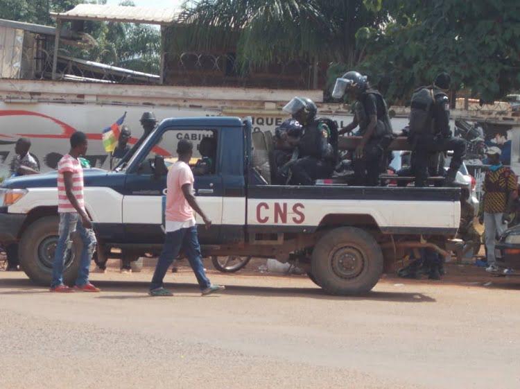 RCA: nouvelle tension entre les policiers et les soldats FACA au quartier Combattant