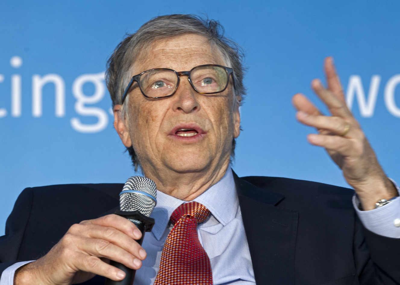 Bill Gates : « La responsabilité des pays riches est de trouver des solutions au défi climatique »