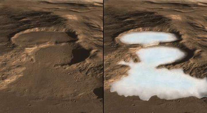Où est passée l'eau de Mars?