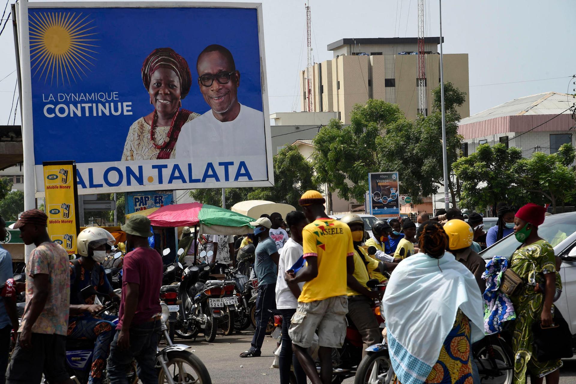 Au Bénin, des incidents dans plusieurs villes à l'approche de la présidentielle