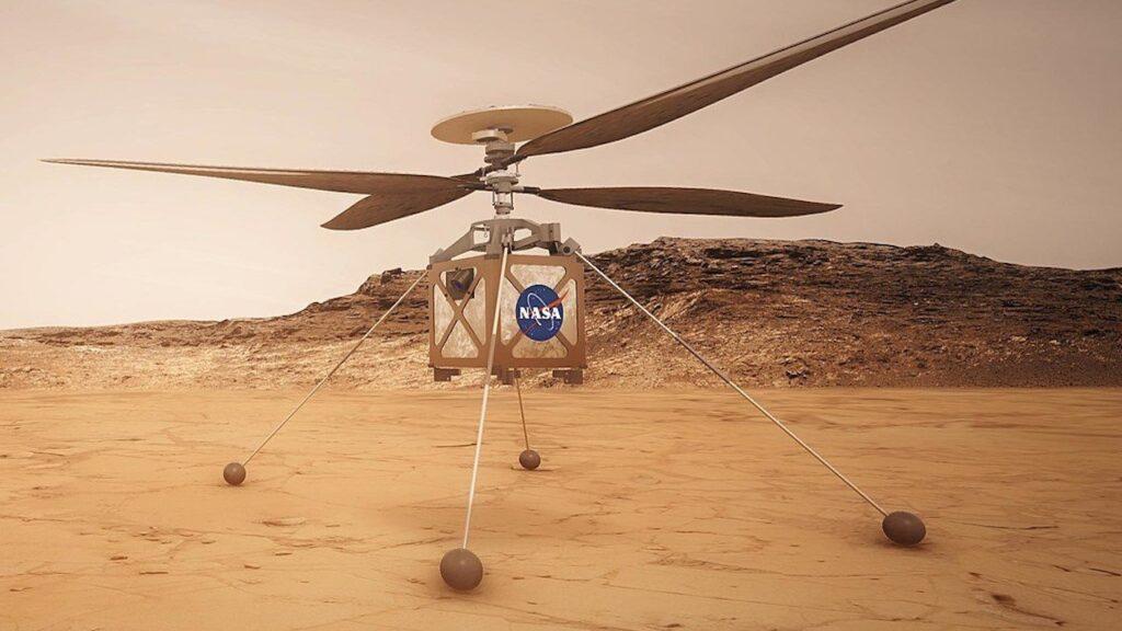Mars : l'hélicoptère Ingenuity de la Nasa a réussi le tout premier vol sur une autre planète