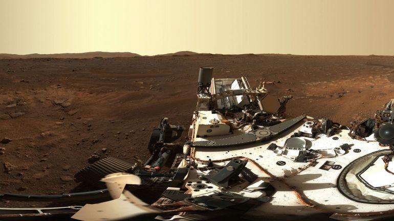 La NASA dévoile la première photo panoramique de Mars envoyée par le rover Perseverance