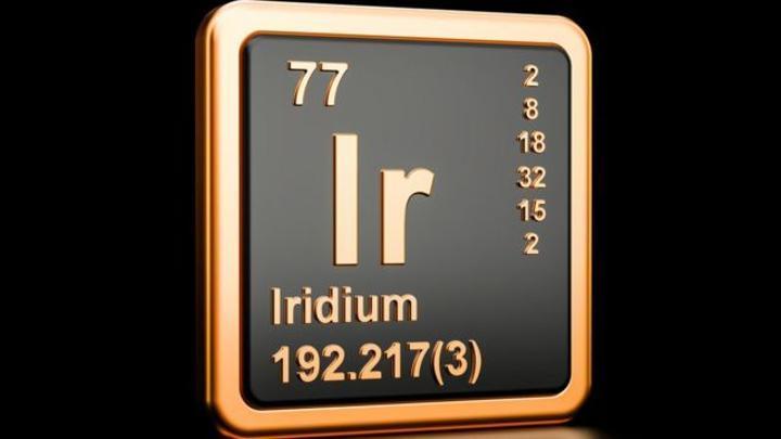 L'iridium, le métal ultra-rare qui abonde dans les météorites et dont le prix a augmenté plus que le bitcoin