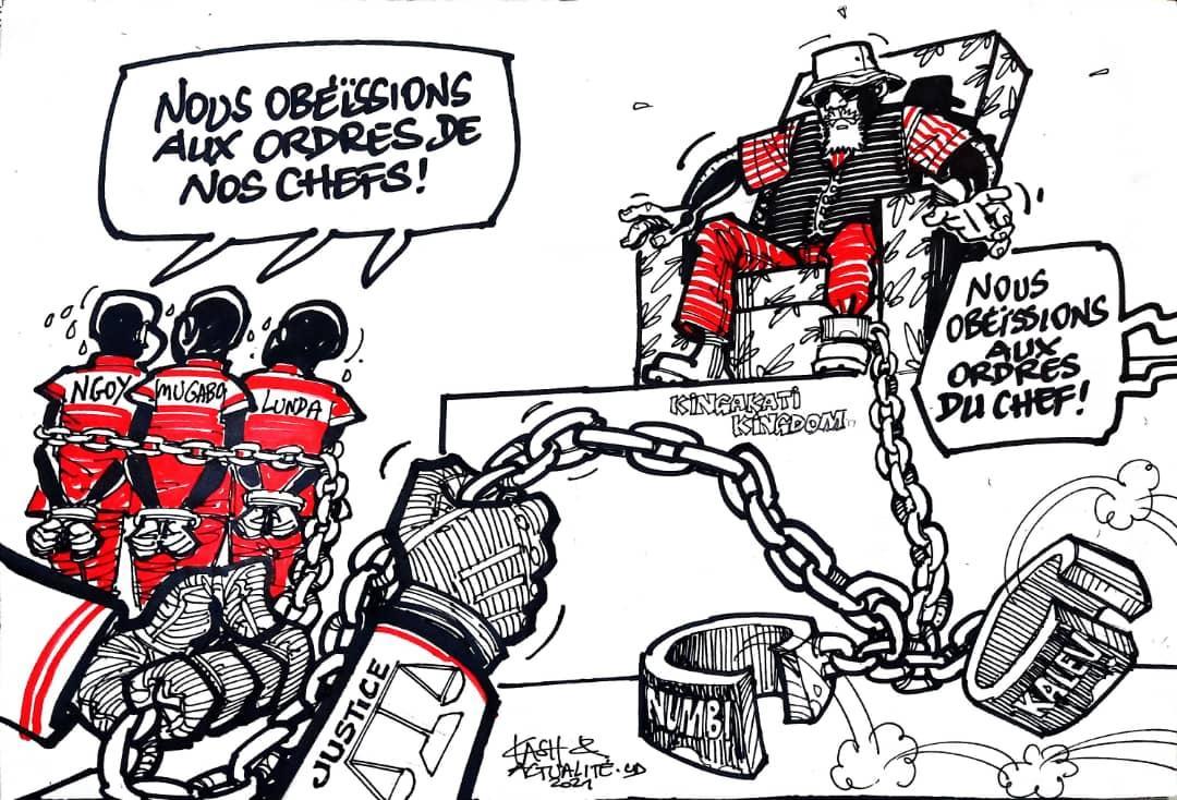 RDC-Caricature: jusqu'où ira la justice?