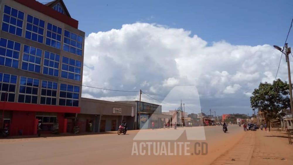 personne n'ose ouvrir le commerce au centre-ville de Butembo, des dispositifs sécuritaires déployés pour empêcher des manifestations devant la base de la Monusco