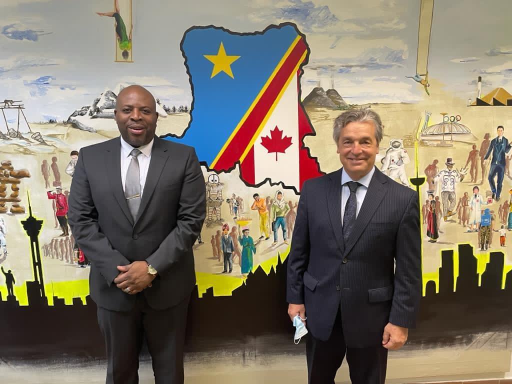 IXèmes Jeux de la Francophonie : Didier Tshiyoyo au contact des ambassadeurs francophones pour réussir l'organisation
