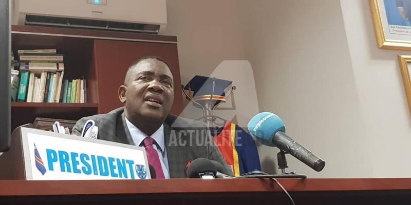 Assemblée provinciale de Kinshasa : la pétition contre Godé Mpoyi majoritairement rejetée lors du vote