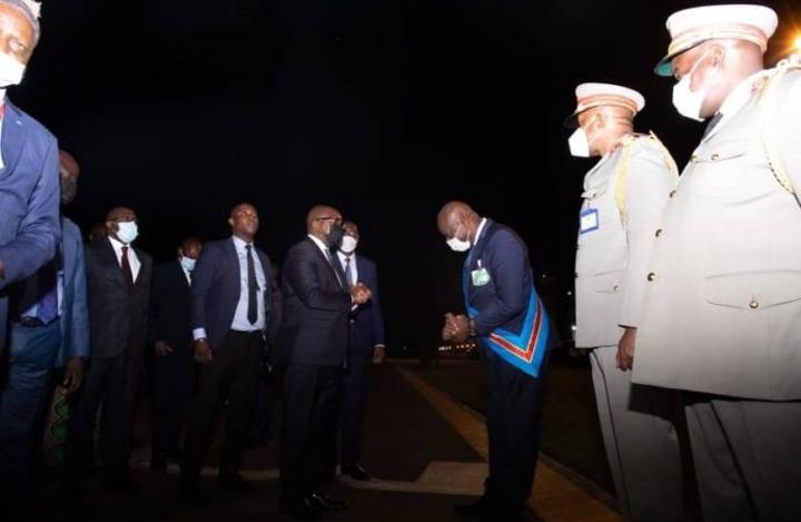 Jean Michel Sama Lukonde promet le retour de la sécurité à Lubumbashi