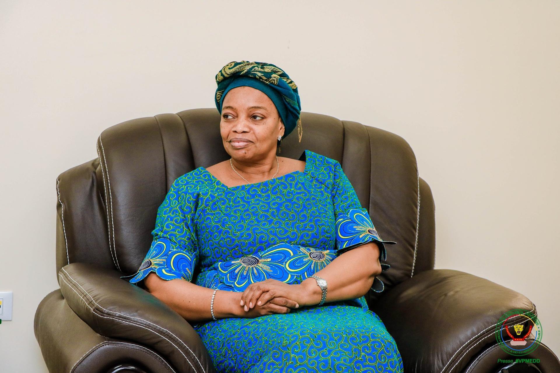 Environnement : le VPM Eve Bazaiba entend travailler notamment sur l'assainissement, le renflouage du trésor public et la paix dans les aires protégées