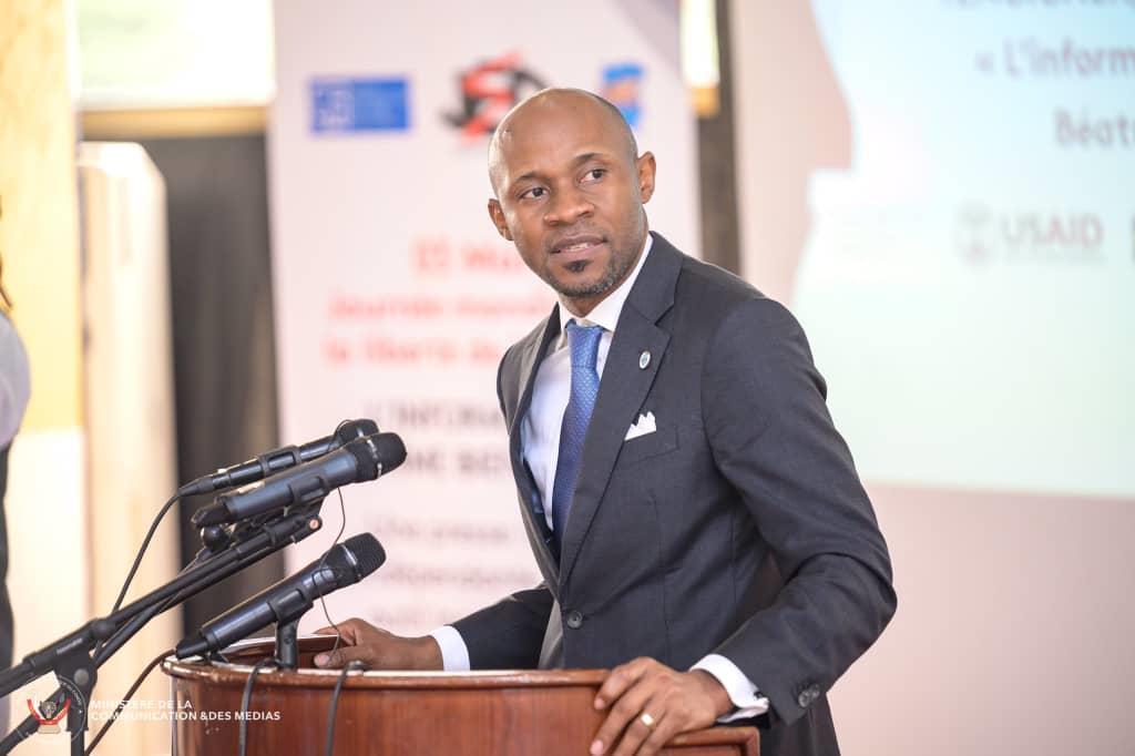 Etat de siège/Patrick Muyaya exhorte les journalistes à plus de patriotisme :